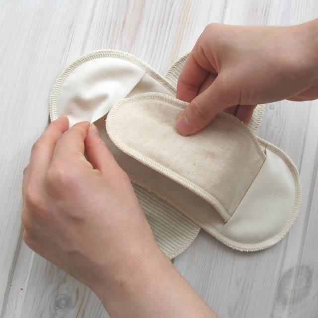 布ナプキン使い方1