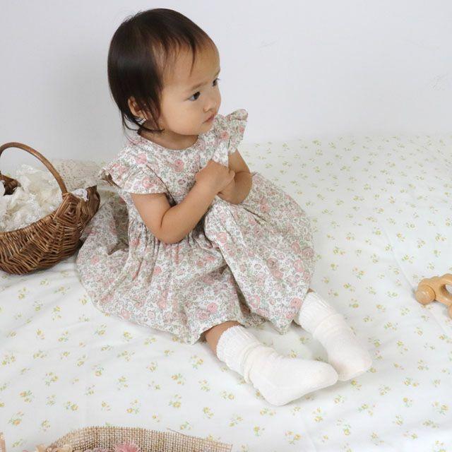 【メール便可】大法紡績冷えとり赤ちゃん用靴下2足セットシルク&コットン〔~12cmまで〕/冷えとり靴下内絹外綿冷え取り重ねばき赤ちゃんベビー温かい日本製冷え性冷えとり健康法