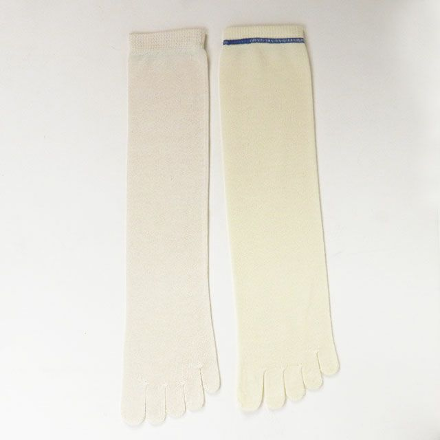 【メール便送料無料】温ちゃんの冷えとり重ね履き靴下シルク&ウールはじめの2枚重ねセットフリーサイズ